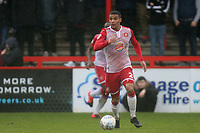 Luther Wildin of Stevenage during Stevenage vs Salford City, Sky Bet EFL League 2 Football at the Lamex Stadium on 15th February 2020