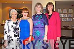 Enjoying the Fashion show in aid of MS Ireland in Ballyroe Hotel on Saturday Pictured Margaret Hartnett Abbeyfeale,  Breda Nelligan, Tralee, Helen Brazil, Tralee, Betty Culloty, Ballybeggan.
