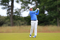 Richie Ramsay (SCO) on the 1st during Round 4 of the Aberdeen Standard Investments Scottish Open 2019 at The Renaissance Club, North Berwick, Scotland on Sunday 14th July 2019.<br /> Picture:  Thos Caffrey / Golffile<br /> <br /> All photos usage must carry mandatory copyright credit (© Golffile | Thos Caffrey)