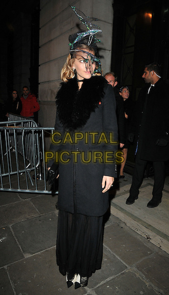 Arizona Muse at the Animal Ball 2016 hosted by the Elephant Family, Victoria House Basement, Bloomsbury Square, London, England, UK, on Tuesday 22 November 2016. <br /> CAP/CAN<br /> &copy;CAN/Capital Pictures
