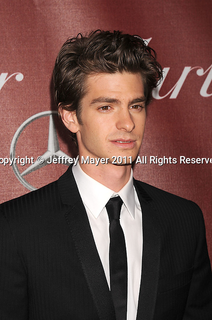 PALM SPRINGS, CA - January 08: Andrew Garfield attends the 22nd Annual Palm Springs International Film Festival Awards Gala at Palm Springs Convention Center on January 8, 2011 in Palm Springs, California.