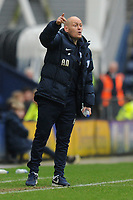 Preston North End manager Alex Neil during Preston North End vs Hull City, Sky Bet EFL Championship Football at Deepdale on 3rd February 2018