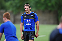 Charlie Ewels of Bath Rugby. Bath Rugby training session on August 4, 2015 at Farleigh House in Bath, England. Photo by: Patrick Khachfe / Onside Images