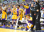 Vermont defeats Albany 72-67 in an America East conference game on February 08, 2018 at SEFCU Arena in Albany, New York.  (Bob Mayberger/Eclipse Sportswire)