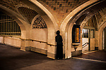 _DSC0927, Vacheron, New York City, New York, USA, 02/2016, USA-11539. Man standing in a corner.<br /> <br /> CHECK IMAGE USAGE<br /> <br /> FINAL_Vacheron<br /> <br /> retouched_Sonny Fabbri 2016