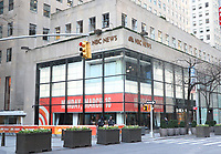 NEW YORK, NY- March 16: Today Plaza closed from public during Coronavirus crisis at Rockefeller Center in New York City on March 16, 2020. <br /> CAP/MPI/RW<br /> ©RW/MPI/Capital Pictures