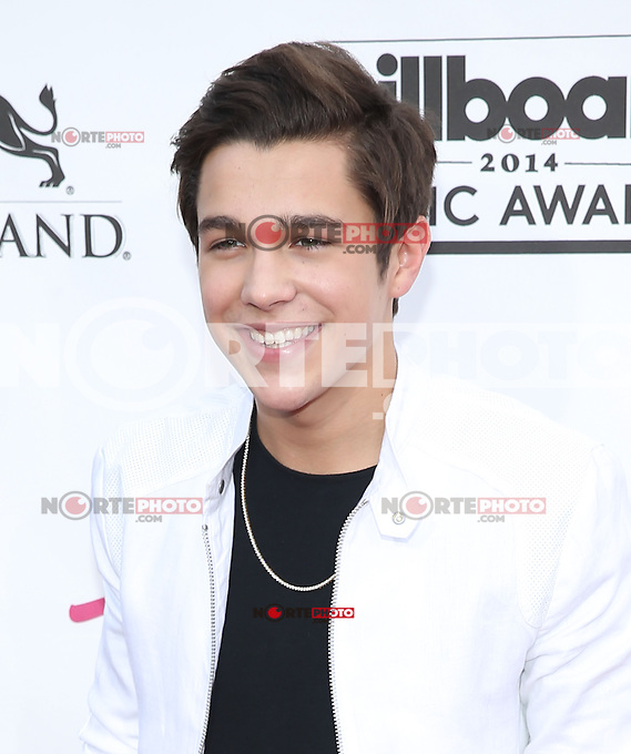 LAS VEGAS, NV - May 18 : Austin Mahone pictured at 2014 Billboard Music Awards at MGM Grand in Las Vegas, NV on May 18, 2014. ©EK/Starlitepics