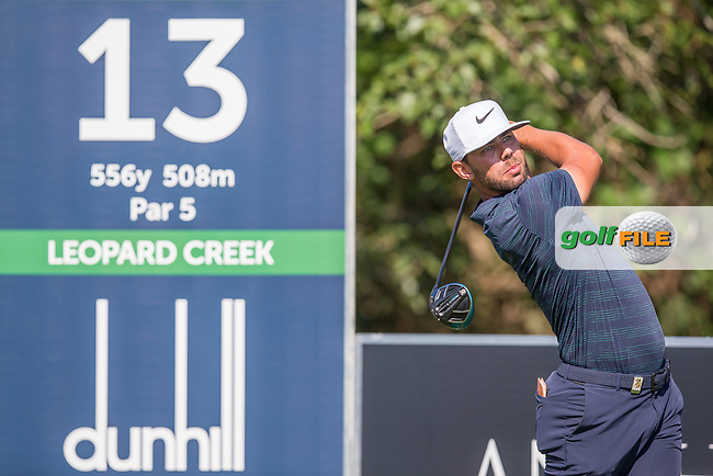 Erik Van Rooyen (RSA) during the 1st round of the Alfred Dunhill Championship, Leopard Creek Golf Club, Malelane, South Africa. 13/12/2018<br /> Picture: Golffile | Tyrone Winfield<br /> <br /> <br /> All photo usage must carry mandatory copyright credit (&copy; Golffile | Tyrone Winfield)