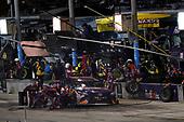 #11: Denny Hamlin, Joe Gibbs Racing, Toyota Camry FedEx Express, pit stop