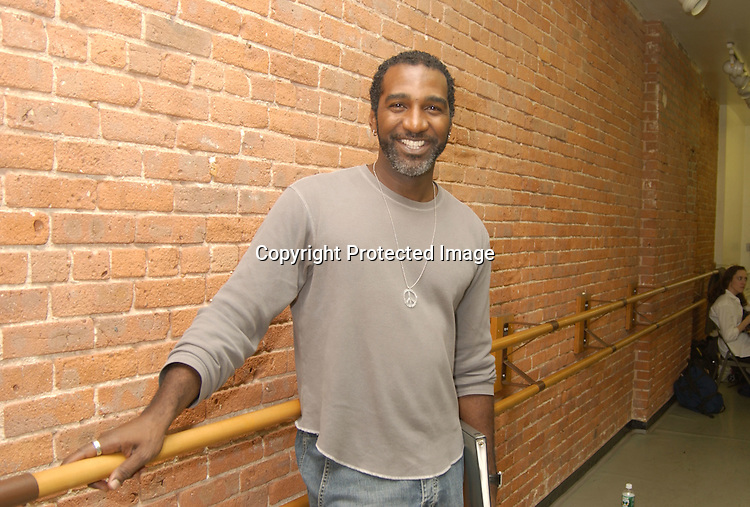 "..Norm Lewis ..at the Sneak Peek of the One-Night-Only All-Star Actors'..Fund Benefit Concert of ""Chess"" at the New Dance Group Studios on September 16,2003  in NYC. The performance will be on September 22, 2003 at Broadway's New Amsterdam Theatre. Photo By Robin Platzer, Twin Images."