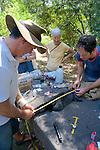 David Lindenmayer & Sam Banks Measuring Mountain Brushtail Possum