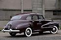 07/01/13 - ENNEZAT - PUY DE DOME - FRANCE - Essais OLDSMOBILE 66 de 1946 - Photo Jerome CHABANNE