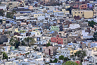 Elevated view  of Udaipur, India.
