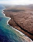 USA, Hawaii, The Big Island, Hawaii Volcanoes National Park aerial Landscape
