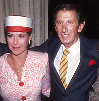 Yankees Manager Billy Martin's Wife Jill and Billy Martin at the Tenth Annual NY Yankees Homecoming . April 04, 1988.<br />Photo By Adam Scull/PHOTOlink.net /MediaPunch