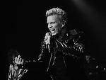 Billy Idol performing at Vicar Street Dublin 07-11-14. Photo: Colin Bell/pressphotos.ie