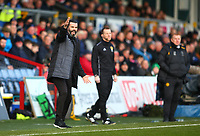 1st December 2019; Global Energy Stadium, Dingwall, Highland, Scotland; Scottish Premiership Football, Ross County versus Celtic; Ross County manager Stuart Kettlewell  shouts instructions to his side - Editorial Use