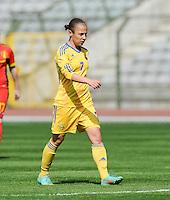 Belgium U19 - Ukraine U19 : <br /> <br /> Ukraine U19 : Yana Malakhova<br /> <br /> foto Dirk Vuylsteke / Nikonpro.be