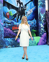 "LOS ANGELES - FEB 9:  Cressida Cowell at the ""How To Train Your Dragon: The Hidden World""  Premiere at the Village Theater on February 9, 2019 in Westwood, CA"