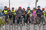 BICYCLE FESTIVAL: Young cyclists raring to go at Blennerville, for the family cycle back to Tralee as part of the Kerry Bicycle Festival which was held on Saturday.   Copyright Kerry's Eye 2008