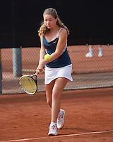 August 6, 2014, Netherlands, Rotterdam, TV Victoria, Tennis, National Junior Championships, NJK, Noesjka Brink (NED)<br /> Photo: Tennisimages/Henk Koster