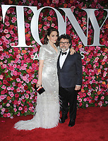 NEW YORK, NY - JUNE 10: Tina Fey and Jeff Richmond attends the 72nd Annual Tony Awards at Radio City Music Hall on June 10, 2018 in New York City.  <br /> CAP/MPI/JP<br /> &copy;JP/MPI/Capital Pictures