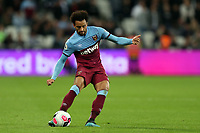 Felipe Anderson of West Ham United during West Ham United vs Crystal Palace, Premier League Football at The London Stadium on 5th October 2019