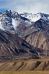Mountain range, Ak-Shyirak Range, Sarychat-Ertash Strict Nature Reserve, Tien Shan Mountains, eastern Kyrgyzstan