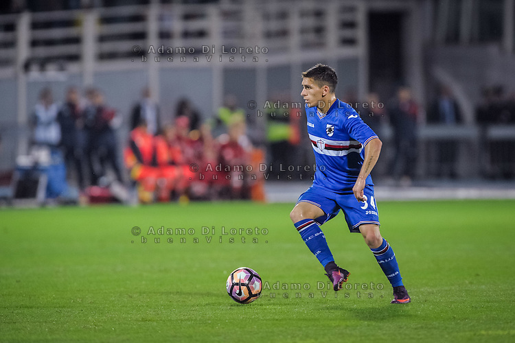 Torreira Lucas (Sampdoria) during the Italian Serie A football match Pescara vs Sampdoria on October 15, 2016, in Pescara, Italy. Photo Adamo Di Loreto/BuenaVista*photo