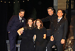 On stage and in costume - As The World Turns and One Life To Live - Tom Degnan and Zack Robidas (3rd right) (actor and boyfriend of ATWT Marnie Schulenburg) with Eleanor Handley, Emily Kiser and Rob Kahn star in Much Ado About Nothing at the Pennsylvania Shakespeare Festival in Center Valley, PA on August 5, 2012. Tom also starred in Cat On A Hot Tin Roof along with the actors (minus Zack) appearing in both productions in one day. (Photo by Sue Coflin/Max Photos) 917-647-8403