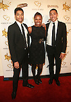 "Stephan Koenigsberg, Deborah Koenigsberger and Florian Koenigsberger Attend Hearts of Gold's 15th Annual Fall Fundraising Gala ""Arabian Nights!"" Held at the Metropolitan Pavilion, NY 11/3/11"