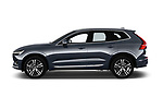 Car driver side profile view of a 2018 Volvo XC60 Inscription 5 Door SUV