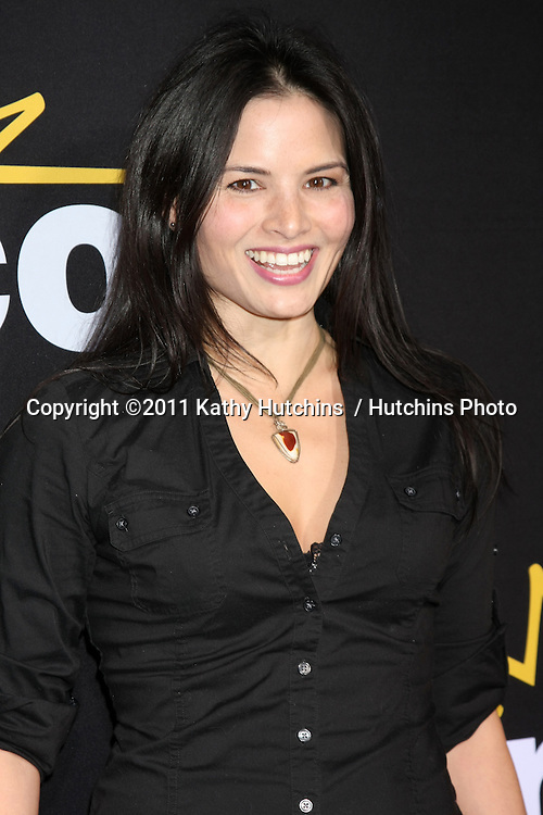"LOS ANGELES - DEC 7:  Katrina Law arrives at the Premiere Of Encore's ""Method To The Madness Of Jerry Lewis"" at Paramount Studios Theater on December 7, 2011 in Los Angeles, CA"