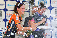 Picture by Alex Whitehead/SWpix.com - 02/07/2014 - Cycling - 2014 DM Keith Skoda Otley Cycle Races - Otley, Yorkshire, England - Lizzie Armitstead wins the Pinsent Masons Women's Grand Prix.