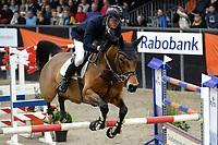 ZUIDBROEK - Paardensport, ICCH Zuidbroek, springen internationaal Grote Prijs , 05-01-2019, Bart van der Maat met Queen of Lightness