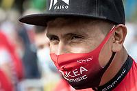 Nairo Quintana (COL/Arkea-Samsic) at the race start in Clermont-Ferrand<br /> <br /> Stage 1: Clermont-Ferrand to Saint-Christo-en-Jarez (218km)<br /> 72st Critérium du Dauphiné 2020 (2.UWT)<br /> <br /> ©kramon