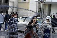 Tunisi, Gennaio 2015<br /> La Tunisia a 4 anni dalla rivoluzione che port&ograve; all'esilio il dittatore Ben Ali. <br /> Avenue Bourguiba