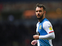 Blackburn Rovers' Adam Armstrong<br /> <br /> Photographer Dave Howarth/CameraSport<br /> <br /> The EFL Sky Bet Championship - Blackburn Rovers v Hull City - Tuesday 11th February 2020 - Ewood Park - Blackburn<br /> <br /> World Copyright © 2020 CameraSport. All rights reserved. 43 Linden Ave. Countesthorpe. Leicester. England. LE8 5PG - Tel: +44 (0) 116 277 4147 - admin@camerasport.com - www.camerasport.com