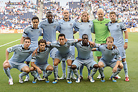 Sporting KC Starting XI..Sporting KC defeated San Jose Earthquakes 1-0 at LIVESTRONG Sporting Park, Kansas City ,Kansas,..