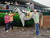Parody winning at Delaware Park racetrack on 6/10/14