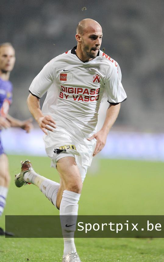 KV Kortrijk : Laurent Ciman..foto VDB / BART VANDENBROUCKE