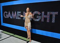 Natasha Hall at the premiere for &quot;Game Night&quot; at the TCL Chinese Theatre, Los Angeles, USA 21 Feb. 2018<br /> Picture: Paul Smith/Featureflash/SilverHub 0208 004 5359 sales@silverhubmedia.com
