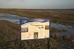 Simpson's saltings, Hollesley, Shingle Street, Suffolk, England