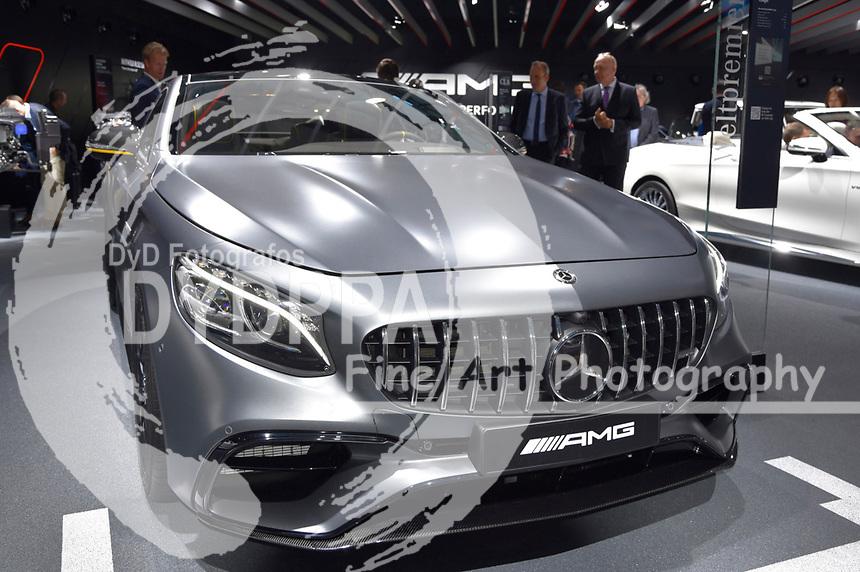Mercedes-AMG GS 63 4matic+ Coupe auf der Internationalen Automobil-Ausstellung 2017 auf dem Messegelände. Frankfurt am Main, 12.09.2017