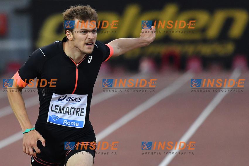 Christophe LEMAITRE FRA 200m Men <br /> Roma 02-06-2016 Stadio Olimpico <br /> IAAF Diamond League Golden Gala <br /> Atletica Leggera<br /> Foto Andrea Staccioli / Insidefoto
