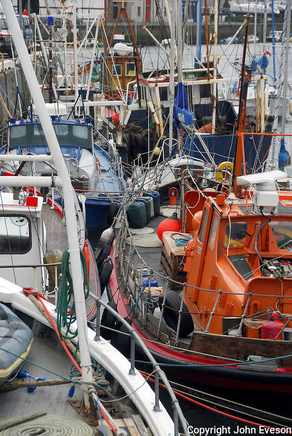 Fishing boats, Peel, Isle of Man.