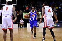 Saints&rsquo; LJ Peak in action during the NBL - Cigna Saints v Canterbury Rams at TSB Arena, Wellington, New Zealand on Tuesday 3 July 2018.<br /> Photo by Masanori Udagawa. <br /> www.photowellington.photoshelter.com
