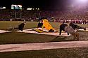08 October 2009:  Pushups after a 3 point field goal in the third quarter against Nebraska at at Memorial Stadium, Columbia, Missouri. Nebraska defeated Missouri 27 to 12.