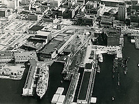 1976..Redevelopment..Downtown West (A-1-6)..Aerial - Chessie Project...NEG#..