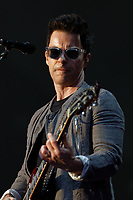 Pictured: Kelly Jones of the Stereophonics performs on stage. Saturday 13 July 2019<br /> Re: Stereophonics live concert at the Singleton Park in Swansea, Wales, UK.